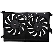 OE Replacement Radiator and A/C Condenser Fan