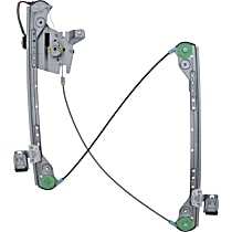 WL41026 Front, Passenger Side Power Window Regulator, With Motor