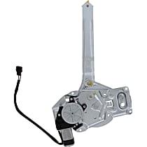 WL41035 Rear, Driver Side Power Window Regulator, With Motor