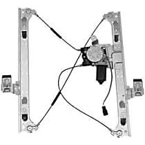 WL41690 Front, Driver Side Power Window Regulator, With Motor