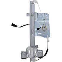 WL41998 Front, Driver Side Power Window Regulator, With Motor