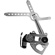WL42020 Front, Driver Side Power Window Regulator, With Motor