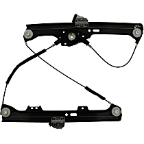 WR40075 Front, Passenger Side Power Window Regulator, Without Motor
