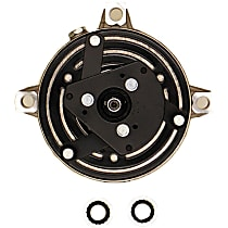 10000439 A/C Compressor Sold individually With clutch, 6-Groove Pulley