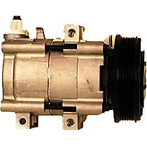 10000505 A/C Compressor Sold individually With clutch, 6-Groove Pulley