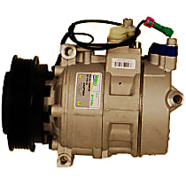 10000709 A/C Compressor Sold individually With clutch, 6-Groove Pulley