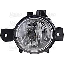 43683 Front, Passenger Side Fog Light, With bulb(s)