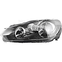 43850 Driver Side Headlight, With bulb(s)