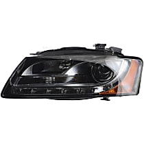 44684 Driver Side HID/Xenon Headlight, Without bulb(s)