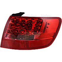 44689 Passenger Side, Outer Tail Light, With bulb(s)