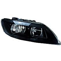 44701 Passenger Side Halogen Headlight, With bulb(s)