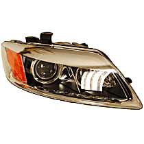 44705 Passenger Side HID/Xenon Headlight, Without bulb(s)