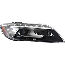 44709 Passenger Side HID/Xenon Headlight, Without bulb(s)