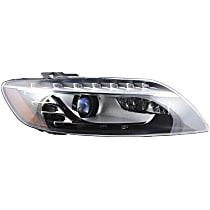 44711 Passenger Side HID/Xenon Headlight, Without bulb(s)