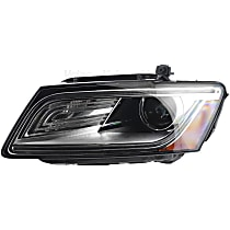 44871 Driver Side HID/Xenon Headlight, Without bulb(s)