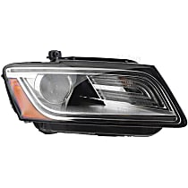 44872 Passenger Side HID/Xenon Headlight, Without bulb(s)
