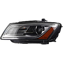 44877 Driver Side HID/Xenon Headlight, With bulb(s)