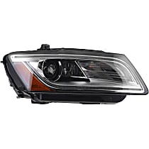 44878 Passenger Side HID/Xenon Headlight, With bulb(s)