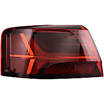 47014 Driver Side, Outer Tail Light, With bulb(s)