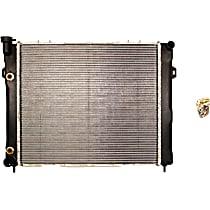 732713 Aluminum Core Plastic Tank Radiator