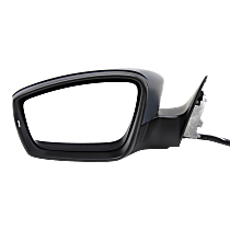 Mirror - Driver Side, Power, Heated, Paintable, With Turn Signal, Memory