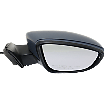 Mirror - Passenger Side, Power, Heated, Power Folding, Paintable, With Turn Signal, Memory