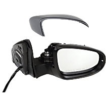 Mirror - Passenger Side, Power, Heated, Power Folding, Paintable, With Turn Signal, Memory and Puddle Lamp