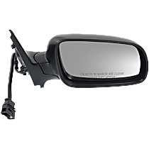 Mirror Manual Folding Heated - Passenger Side, Power Glass, Paintable