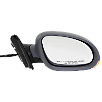 Mirror - Passenger Side, Power, Heated, Paintable, With Turn Signal