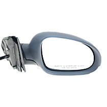 Mirror - Passenger Side, Power, Heated, Paintable, With Turn Signal and Puddle Lamp