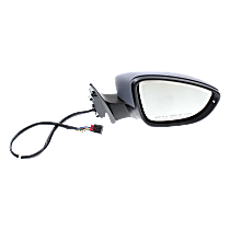 Mirror - Passenger Side, Power, Heated, Power Folding, Paintable, With Turn Signal, Memory and Puddle Lamp, Models With Seat Memory