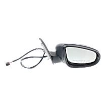 Mirror Manual Folding - Passenger Side, In-housing Signal Light, Paintable