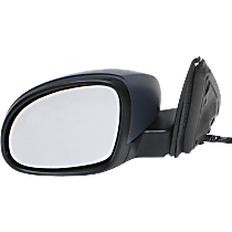 Mirror - Driver Side, Power, Heated, Power Folding, Paintable, With Turn Signal, Memory and Puddle Lamp