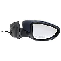 Mirror - Passenger Side, Power, Heated, Folding, Paintable, With Turn Signal, Memory and Puddle Lamp