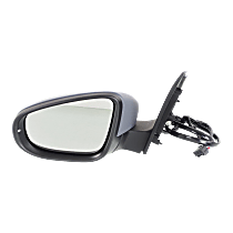 Mirror - Driver Side, Power, Heated, Power Folding, Paintable, With Turn Signal and Puddle Lamp