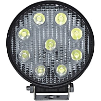 09-12006A Offroad Light - Black, Steel, Sold individually