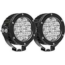 09-12007B-PR LED Offroad Light - Black, Set of 2