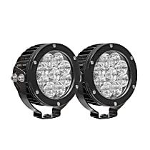 LED Offroad Light - Black, Set of 2