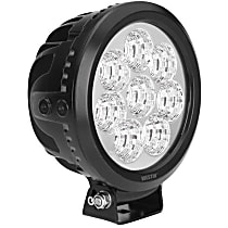 09-12010B LED Offroad Light - Black, Sold individually