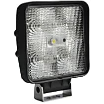 09-12210 Offroad Light - Black, Steel, Sold individually