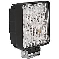 09-12211A Offroad Light - Black, Steel, Sold individually