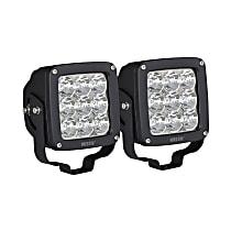 09-12219A-PR LED Offroad Light - Black, Set of 2