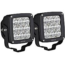 09-12219B-PR LED Offroad Light - Black, Set of 2