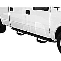 20-3725 Westin GENX Powdercoated Black Nerf Bars, Covers Cab Length - Set of 2