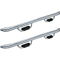 20-2670 Westin GENX Polished Nerf Bars, Covers Cab Length - Set of 2