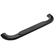 21-3805 Westin Platinum series oval Powdercoated Black Nerf Bars, Covers Cab Length - Set of 2