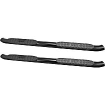 Powdercoated Black Nerf Bars, Covers Cab Length - Set of 2