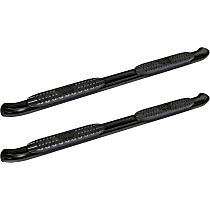 21-23525 Westin Pro Traxx 4 Powdercoated Black Nerf Bars, Covers Cab Length - Set of 2