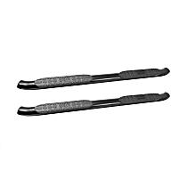 Westin Pro Traxx 4 Powdercoated Black Nerf Bars, Covers Cab Length - Set of 2