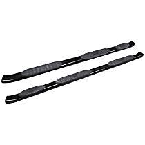 21-534735 Westin Pro Traxx 5 Powdercoated Textured Black Nerf Bars, Covers Wheel to wheel - Set of 2